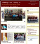 Port Orange Music Academy Web Design